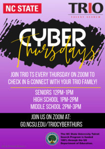 Cyber Thursday with TRIO Flyer
